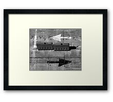 Arrows. A Life Story.  Framed Print