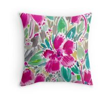 HOLIDAY HIBISCUS Throw Pillow