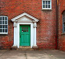 Green Door by BCallahan