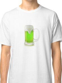 Saint Patrick's Day green beer Classic T-Shirt
