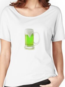 Saint Patrick's Day green beer Women's Relaxed Fit T-Shirt