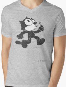 Felix The Cat Mens V-Neck T-Shirt