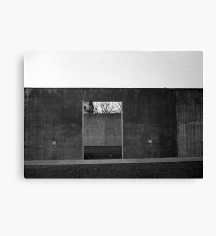 Concrete Plaza Canvas Print