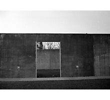 Concrete Plaza Photographic Print
