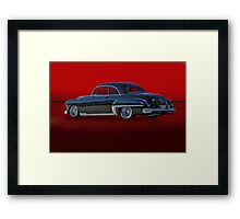 1949 Oldsmobile Coupe 3/4 Rear View Framed Print