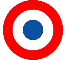 Roundel, Tricolore, cockade, French, Air Force, Bullseye, combat, aircraft, First World War Photographic Print