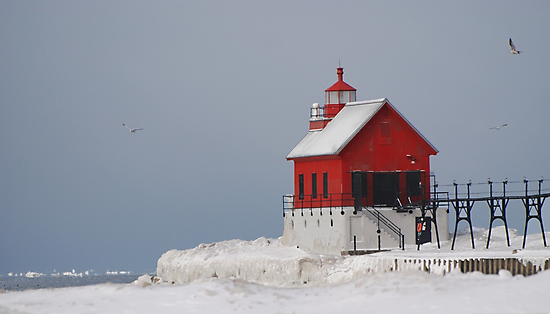 Grand Haven Winter by BiggerPicture