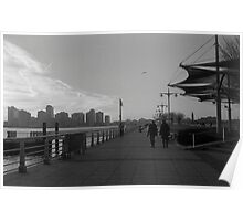 NYC Waterfront Poster