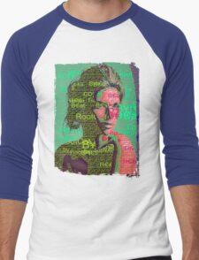 Love Bytes Ladies #18 Men's Baseball ¾ T-Shirt