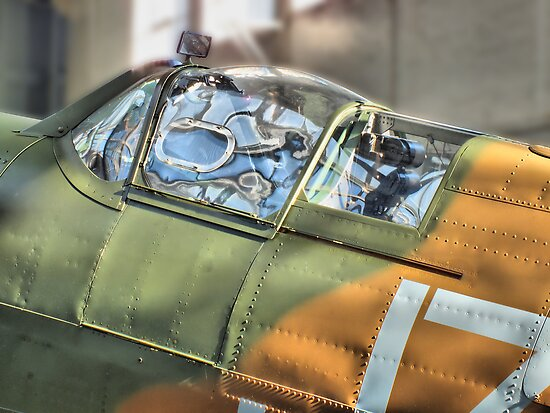 Spitfire Canopy - IWM Duxford - HDR by Colin J Williams Photography