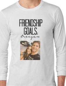 Friendship Goals; Treegan Long Sleeve T-Shirt