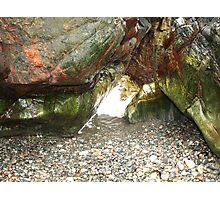 The Coloured Rocks Tiree Photographic Print