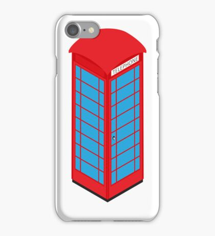 Isometric booth iPhone Case/Skin
