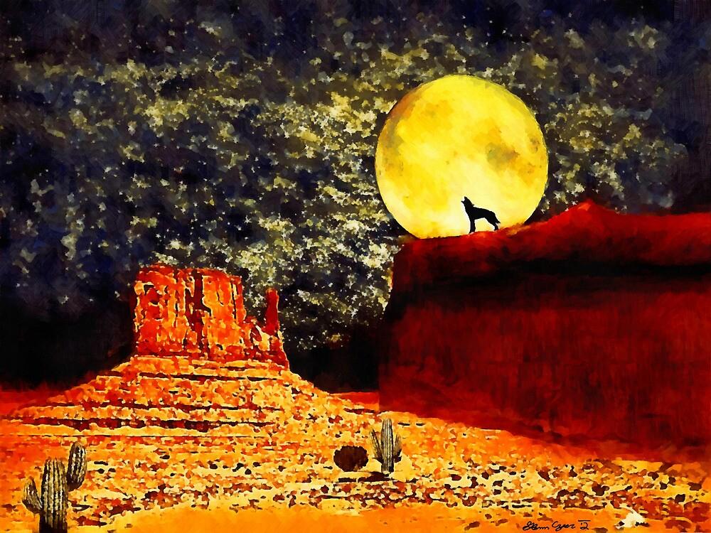 Desolate Desert by Shamonue