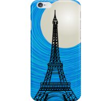 Paris card iPhone Case/Skin
