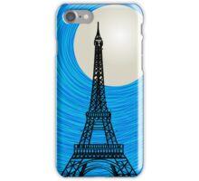 Paris card iPhone Case/Skin