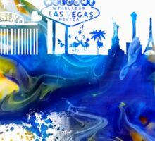 Las Vegas Nevada skyline Sticker