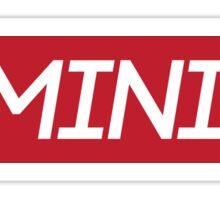Red Feminist Logo Sticker