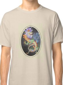 Chinese Dragon With Decorative Border Classic T-Shirt