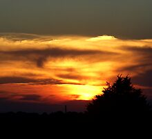 Sky Fire by WildestArt