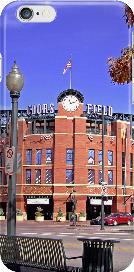 Coors Field iPhone by Michael Andersen