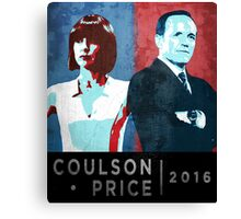 Coulson/Price 2016 Canvas Print