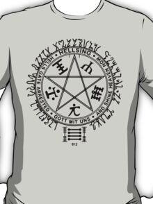 Anime - Hellsing Symbol (Black) T-Shirt