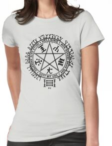 Anime - Hellsing Symbol (Black) Womens Fitted T-Shirt