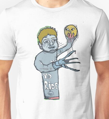Just freddying about ready for the five finger shuffle. Bosh! Unisex T-Shirt