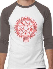Anime - Hellsing Symbol (Red) Men's Baseball ¾ T-Shirt