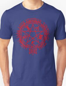 Anime - Hellsing Symbol (Red) Unisex T-Shirt