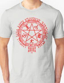 Anime - Hellsing Symbol (Red) T-Shirt