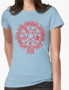 Anime - Hellsing Symbol (Red) Womens Fitted T-Shirt