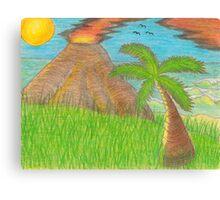 Volcano Beach Canvas Print