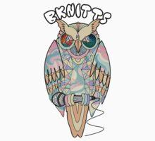 TRIPPY OWL Kids Tee