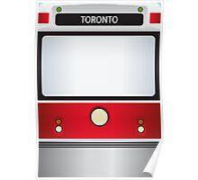 Toronto Streetcar Poster