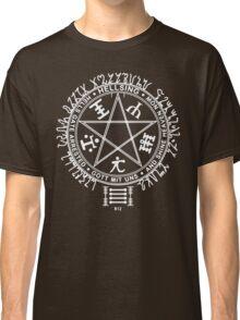 Anime - Hellsing Symbol (White)  Classic T-Shirt