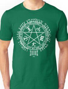Anime - Hellsing Symbol (White)  Unisex T-Shirt