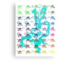 12 Monkeys - Rainbow Metal Print