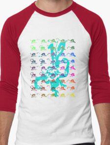 12 Monkeys - Rainbow Men's Baseball ¾ T-Shirt