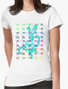 12 Monkeys - Rainbow Womens Fitted T-Shirt
