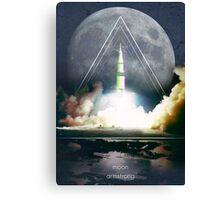 Explorers - Armstrong Canvas Print