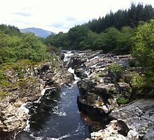 The River Orchy by copper160
