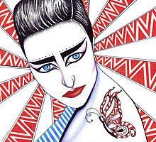 Siouxsie Sioux by MSRowe Art and Design