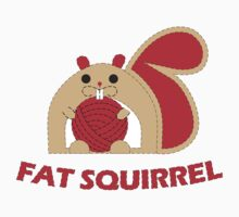 Fat Squirrel  Kids Tee