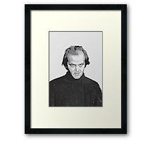 Jack Nicholson (Jack Torrance) The Shining  Framed Print