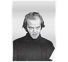 Jack Nicholson (Jack Torrance) The Shining  Poster