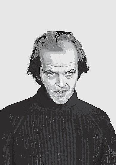 Jack Nicholson (Jack Torrance) The Shining  by Creative Spectator
