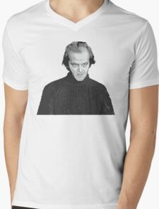 Jack Nicholson (Jack Torrance) The Shining  Mens V-Neck T-Shirt