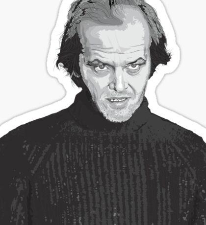 Jack Nicholson (Jack Torrance) The Shining  Sticker